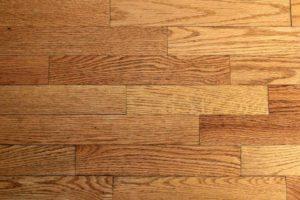 Close up view of hardwood floors