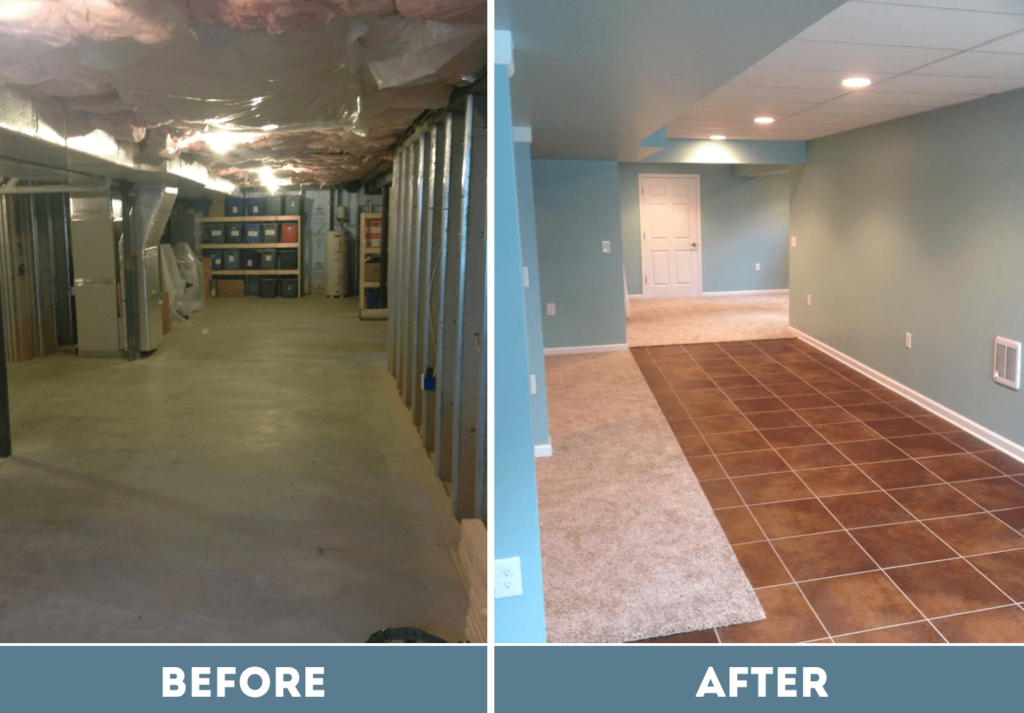 Basement Remodeling In Lancaster Pa Home One Services